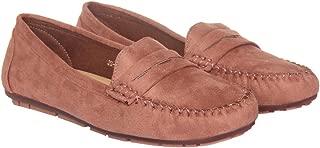 Flat n Heels Womens Pink Loafer FnH 9927-Pk