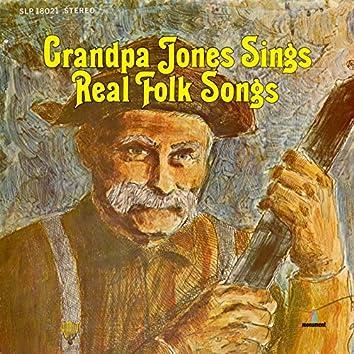 Sings Real Folk Songs