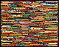 "Jigsaw Puzzle 1000 Pieces 24""X30""-Pencils"