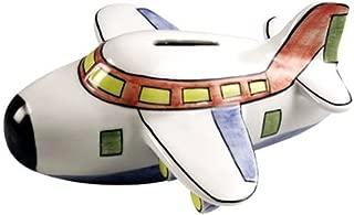 Sadek Airplane Coin Bank Piggy Bank 6.5 Inches