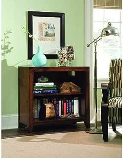 Hooker Furniture Danforth Low Bookcase in Rich Medium Brown