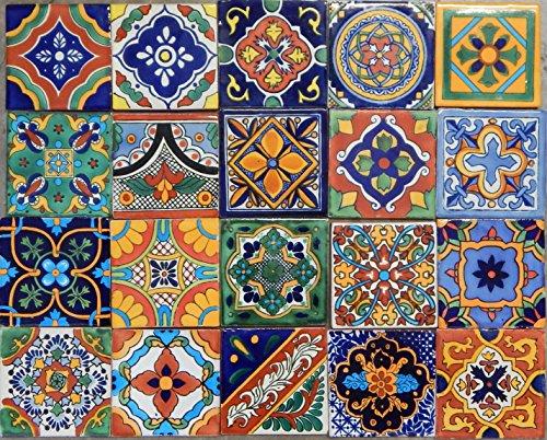 Color y Tradicion 100 Mexican Tile Mix 4x4
