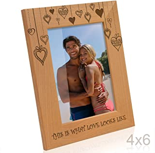 Best wooden heart picture frame Reviews