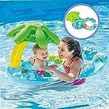 Eltern kind schwimmen kreis ring baby float sonnenschirm abdeckung schwimm spielzeug kind strand pool zubehör plage piscine gute balance