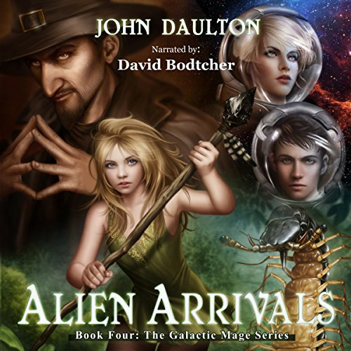 Alien Arrivals audiobook cover art