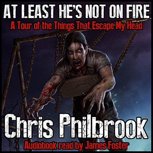 At Least He's Not on Fire: A Tour of the Things That Escape My Head audiobook cover art