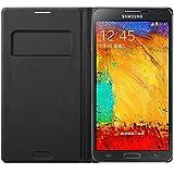 Samsung EF-WN900BB Schutzhülle/Etui mit Display-Flappe für Samsung Galaxy Note 3 schwarz