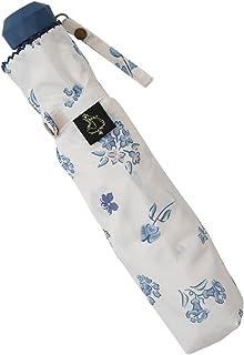 小川(Ogawa) 折りたたみ傘 手開き 55cm ディズニー 不思議の国のアリス フラワーパーティー 雨晴兼用 UV加工 はっ水 85785