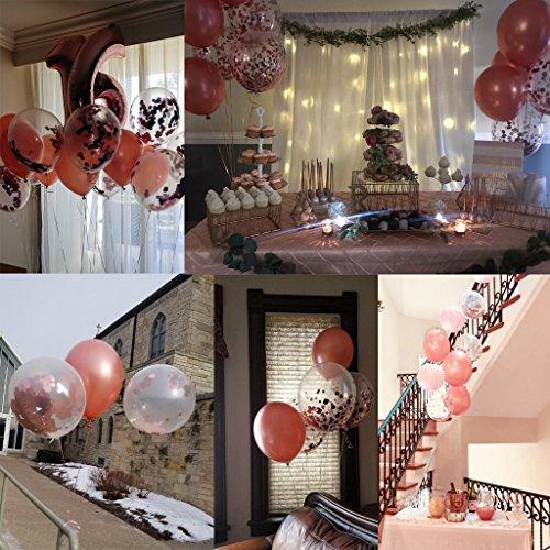 Ballon Set roségold | 30 Stück - 5