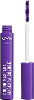 Nyx Professional Makeup Color Mascara, Purple, 9ml