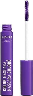NYX Professional Makeup Color Mascara, Purple, 0.32 Ounce