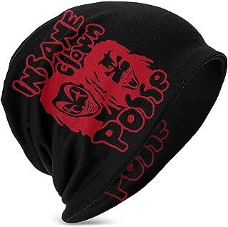 Hdadwy Beanie Hat Insane Clown Posse Band Logo Gorro de Punto Gorro de Calavera Fina con puños para niños y niñas Negro