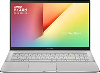 ASUS ノートパソコン VivoBook S15 M533IA(ガイアグリーン/AMD Ryzen7 4700U+Radeon グラフィックス/8GB, 512GB(SSD)/15.6インチ/Webカメラ/Wifi 6/WPS Office ...