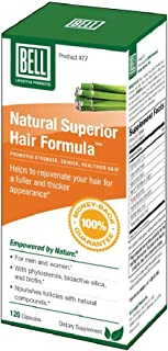 Natural Superior Hair Formula by Bell Lifestyle Products   an Innovative Healthy Hair Supplement for Men and Women   Sold ...