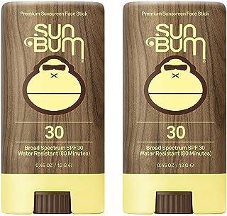Sun Bum SPF 30 Sunscreen, Original Face Stick (2 Pack)