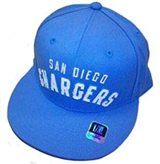 Reebok SAN Diego Chargers Structured Flat Bill HAT Size L/XL