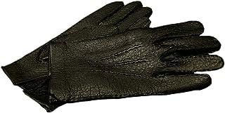 DENTS(デンツ) 15-1041 [ BLACK/ブラック ] ペッカリー (猪豚革) レザーグローブ(革手袋) [並行輸入品]