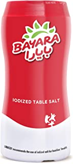 Bayara Iodized Table Salt 700G Bottle