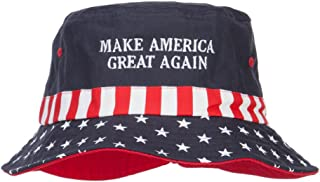 e4Hats.com Make America Great Again Embroidered Flag Hat
