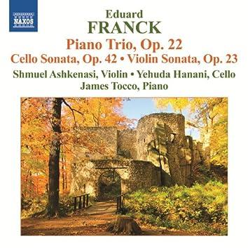 Franck: Piano Trio, Op. 22 - Cello & Violin Sonatas