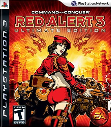 Command Conquer Red Alert 3 - Ps3