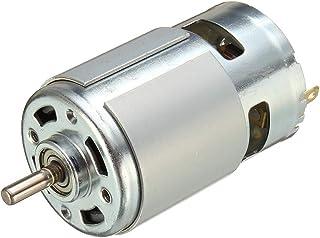 KKmoon 775 DC 12V-36V 3500-9000RPM Rodamiento de Bolas del Motor Gran par de Torsión Alta potencia Bajo Ruido DC Accesorios del motor Suministro Eléctrico