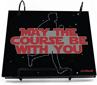 Gone For a Run BibFOLIO Race Bib Album | Bib Holder May The Course Be with You