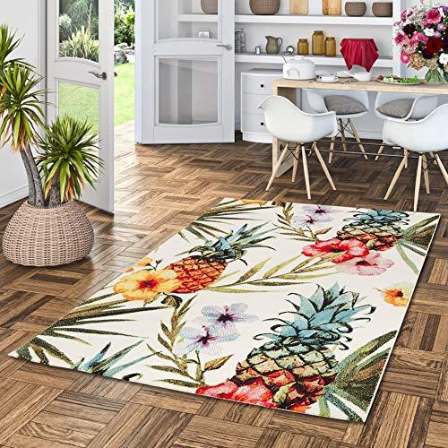 Pergamon Faro - Tapis de Designer - Tropical Multicolore - 5 Tailles