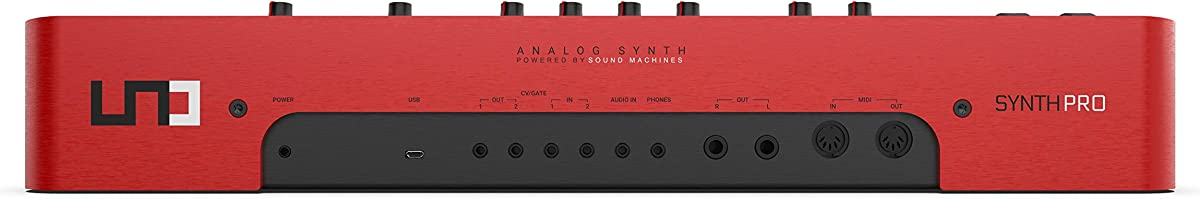 UNO Synth Pro:リアパネル