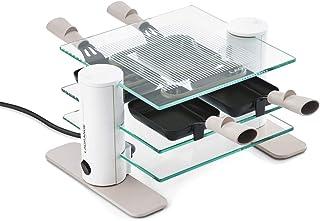 Lagrange - 009408 - Appareil … raclette 4 personnes 600w en verre transparence min'ral