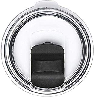 20 oz Tumbler Lids Fit for YETI Rambler,Ozark Trail,Old Style Rtic,Spill-Proof Splash Resistant Magnetic Lid Covers