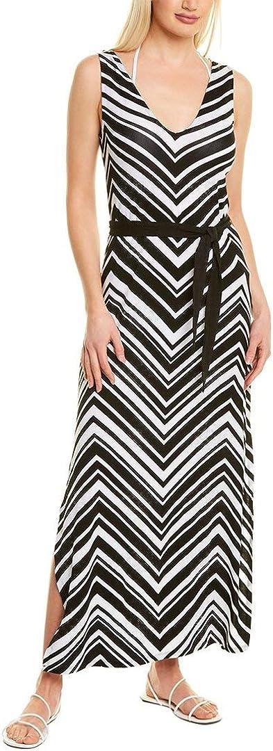 La Blanca Women's Standard Slit Maxi Dress Swimsuit Cover Up