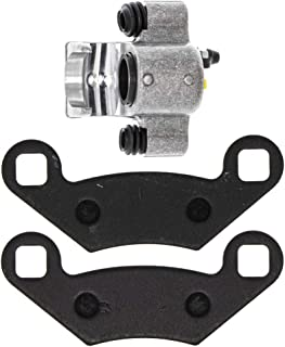 REAR LEFT RIGHT BRAKE CALIPERS WITH PADS For  POLARIS RZR 800 /& S 2008-2014