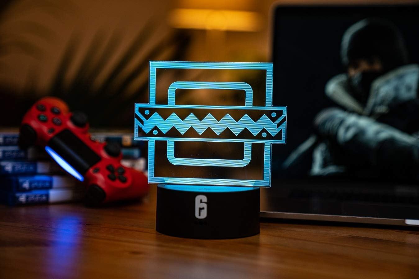 Six Siege LED Lamp !超美品再入荷品質至上! - Frost fo 記念日 Rainbow Decor Operator