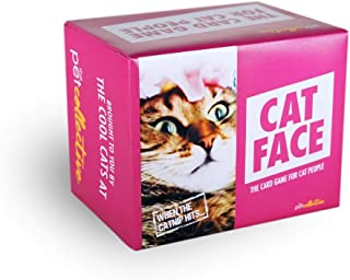 Cat Face Original Edition - Cat Themed Meme Party Game - Fun Party Pack for up to 8 Players - Hilarious Family-Friendly Ca...