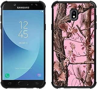for Galaxy J3 2018 Case,Galaxy J3 Achieve Case,Galaxy Express/Amp Prime 3 Case,Galaxy J3 V 3rd Gen Case,Galaxy J3 Star Pink Camo Case, ABLOOMBOX Slim Bumper Rubber Protective Case