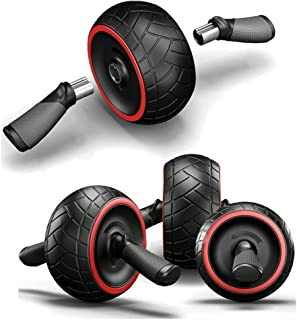 Sixpi Abdominal Roller Wheel Speed Abs Complete Ab Workout System by Iron Gym