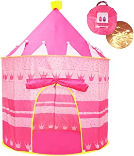 Opret Tienda de Princesa para Niñas Pop Up Carpa Plegable