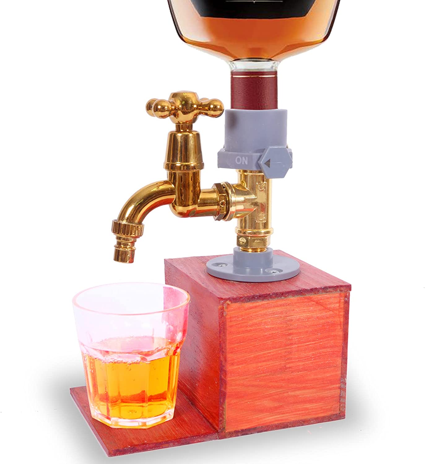 FYANER Whiskey wood Dispenser New color Liquor Fathers Max 85% OFF Day Alcohol