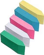 Belle Vous Multi-Gekleurde Plastic Planten Labels (500 Pak) – 10 x 2 cm – Watervaste Tuin Staak Potten Markers/Labels in 5 Verschillende Kleuren, voor Kweken, Zaden, Planten en Kruiden