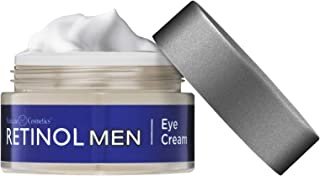 Retinol Men's Eye Cream – The Original Retinol Eye Treatment For Men – Targets Under-Eye Area to Reduce Puffiness & Dark Circles, Boost Hydration & Drastically Minimize the Visible Signs Of Aging