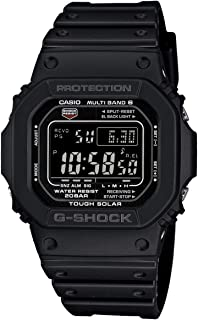 Men's GW-M5610-1BJF G-Shock Solar Digital Multi Band 6 Black Watch