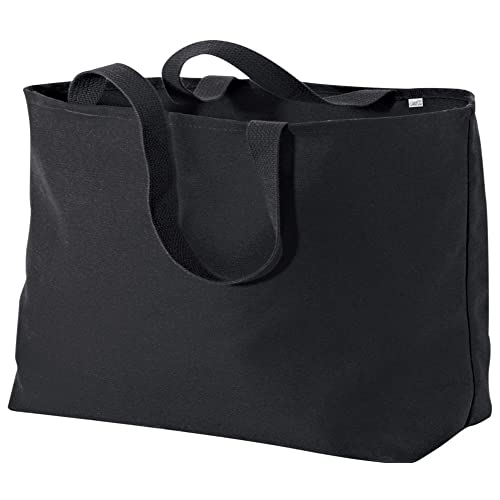 759f30b064c79 Joe s USA Jumbo Tote Bag a Sturdy 10-ounce Cotton Oversized Tote Bag