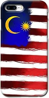 TBL 国旗设计哑光硬质手机壳,适用于 iPhone 7 Plus 8 Plus【防刮】3D_Malaysia_ip7plus Malaysia_ip7plus