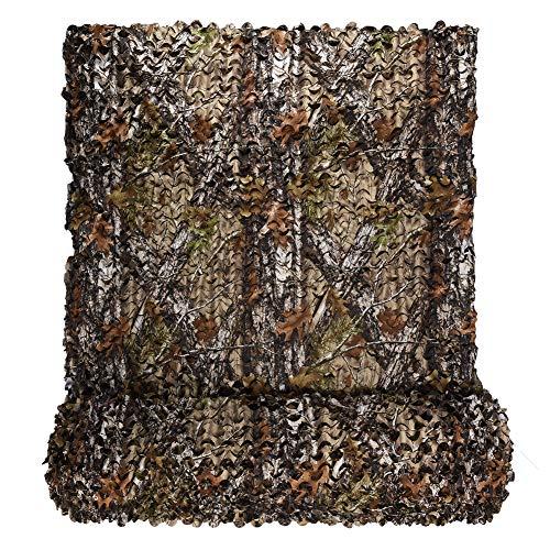 LOOGU Tarnnetz für Sichtschutz Sonnenschutz Abdeckung Verschiedene Größen und Farben Tarnung Camouflage Netz für Haus Garten Camping Jagd