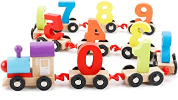 The Numbers Train Wooden Montessori Toy