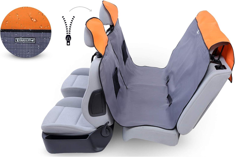 Kardiff 5902020110439 Active Small with Zip 123 x 154 cm Grey orange