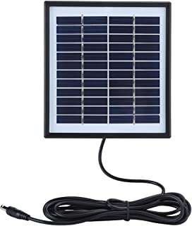 Solar Panel, 2W 12V Multifunctional Solar Panel Polysilicon Charging Board with Border Compact Design Solar Panel Charger ...