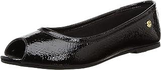Carlton London Women's Silver Flat Sandal