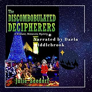 The Discombobulated Decipherers: A Brilliant Minnesota Mystery, Volume 2 audiobook cover art
